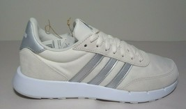 Adidas Size 8 M RUN 60s 2.0 Chalk White Grey Sneakers New Women's Shoes - $107.91