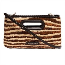 5dc89df4c7d7 MICHAEL Michael Kors Rosalie Natural Large Clutch Handbag - $124.46
