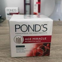 POND'S Age Miracle Skin Care Anti Ageing Wrinkle Corrector Women NIGHT Cream  - $11.66+