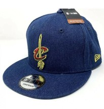 Cleveland Cavaliers New Era 2018 Draft 9FIFTY Snapback Hat Denim LeBron ... - $25.74