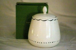 Lenox 2019 Union Square Doodle Covered Sugar Bowl Kate Spade NIB - $53.99