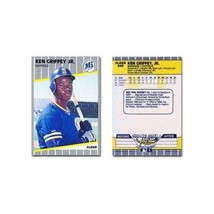 Ken Griffey Jr. Rookie Card 1989 Fleer Baseball Card #548 Mariners - Min... - $13.99