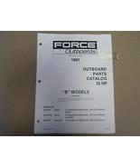 1987 Forza Fuoribordo Parti Catalogo 35 hp B Modelli sia 4160 OEM Barca 87 - $6.95