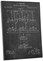 """Pingo World 0301Q3WCA4G """"Brewing Beer Patent"""" Gallery Wrapped Canvas Print, 30""""  - $58.36"""
