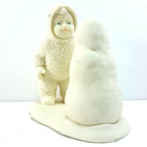 Dept 56 Snowbabies Why Dont you Talk to Me Figurine Winter Tales 68012 I... - $9.90