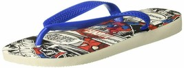 Havaianas Women'S Flip Flop Sandals, Spiderman,White,41/42 Br (11-12 M Us) - $32.16