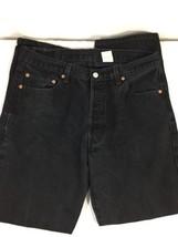 Levi's Men Dark Wash Jeans Size 36 Quality Clothing Regular Fit Normal Use Black - $21.03