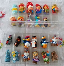 Vintage Vending Machine Toys LOT OF 23 Kinder surprise Mini Ferrero in Case - $23.74