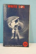 1966 Chicago White Sox Official Scorecard - $9.85