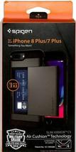 Spigen Slim Armor CS Case For [ iPhone 8 Plus / 7 Plus ] LARGE-Card Stor... - $11.88