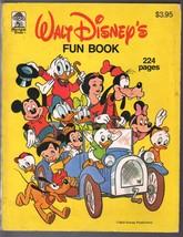 Walt Disney's Fun Book 1981-Merrigold Press-Uncle Scrooge-Mickey-Snow Wh... - $59.60
