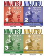 4 DVD SET Ninjutsu Art of the Ninja Secret Techniques - Jack Hoban - $92.00