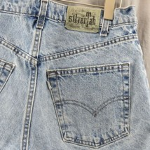 Levis Vintage Silvertab Loose Jean Shorts Size 32 Made In USA Pleated - $21.74