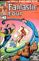 Marvel Comics - THE OFFICIAL MARVEL INDEX To The Fantastic Four #9 Aug 1... - $7.50