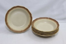 """Mikasa Whole Wheat Soup Cereal Bowls 8"""" Set of 5 - $44.09"""