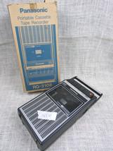 Panasonic Portable Cassette Tape Recorder NOT WORKING - $6.27