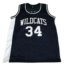 Len Bias #34 Northwestern Wildcats New Men Basketball Jersey Navy Blue Any Size image 3