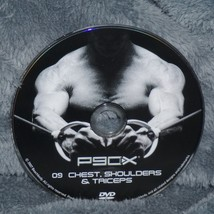 P90X Disc # 9 Chest, Shoulders, & Triceps Replacement DVD DISC ONLY - $8.20