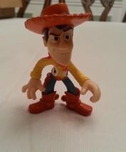 "Disney Toy Story Woody Toy PVC Figure 3"" Tall - $6.92"