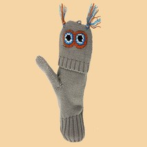 Flip Mittens Owl - Unisex One Size Fits Most - Mittens to Fingerless Gloves - $10.60 CAD