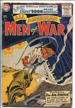 ALL AMERICAN MEN OF WAR #37-1956-WWII-DC-SILVER AGE-TANK-KUBERT-good/vg - $59.60