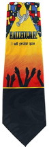 Hallelujah I Will Praise You Mens Necktie Religious Neck Tie Christian Gift - $14.95