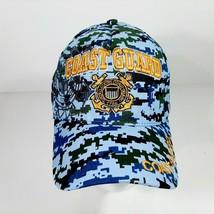 U.S. Coast Guard Men's Digital Camouflage Hat Cap Cotton Embroidered - $12.37
