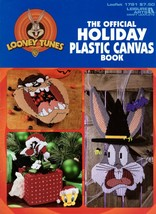 The Official Holiday Plastic Canvas Looney Tunes Bugs Bunny Sylvester Tw... - $17.50