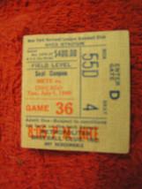 MLB New York Mets July 1, 1980 Shea Stadium NY Vs. Chicago Ticket Stub - $9.85