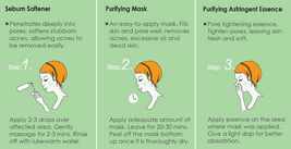 Sexylook Strawberry Black Head Pore Cleanser 3 steps Set image 3