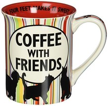 Our Name is Mud Cat Hair and Friends Stoneware Mug, 16 oz. - $12.19