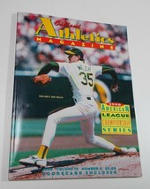 American League Oakland Athletics Magazine Bob Welch 1990 - $4.50
