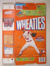 Empty Wheaties Box 2006 18oz Chris Carpenter St Louis Cardinals [Z202e1] - $11.97
