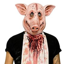 Deluxe Novelty Halloween Costume Party Latex Animal Head Mask - Pig (Pig... - £12.92 GBP