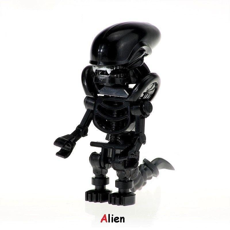 Predator VS Alien Minifigure Rare Figure Edition Single Sale Lego Toys