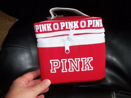 Victoria's Secret PINK Ohio State Makeup Cosmetic Bag Train Case NEW LAS... - $42.33