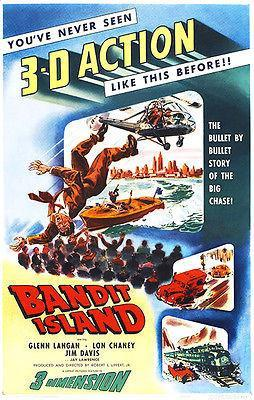 Primary image for Bandit Island - 1953 - Movie Poster