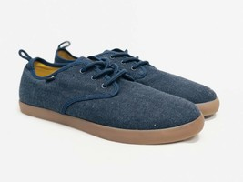 Sanuk Guide TX Lace Up Loafers 1014122 NAVY / Gum Slip On Men's Shoes 9 1014122 - $39.99