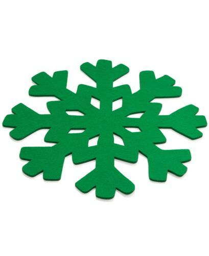 Primary image for The Cellar Green Snowflake ChargerThe Cellar Green Snowflake Charger