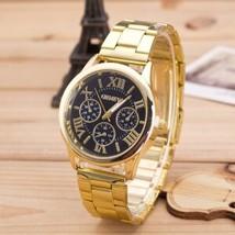 New Wristwatch Women Female Geneva Clock Ladies Watch Roman Numerals Qua... - $12.98