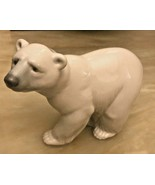 "Vintage LLadro Figurine Figurine ""Attentive Polar Bear"" Piece 1207 - 5"" ... - $32.99"