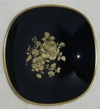 Vtg Echt Cobalt Blue Gold Gilt Paint Bavaria Schumann Arzberg Germany Bo... - $28.71