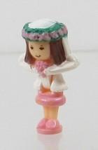1993 Vintage Lot Polly Pocket Doll Wedding Chapel - Bride Nancy Bluebird... - $7.50