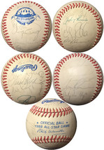 1988 All Star Game Baseball NL Team Signed- 25 sigs-Andre Dawson/Lance Parrish/C - $136.95