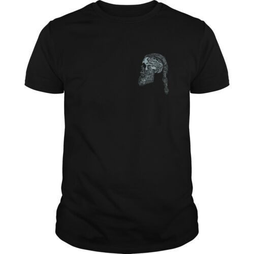Viking See You in Calhalla Shirt Black Viking T-Shirt Cotton Made in USA