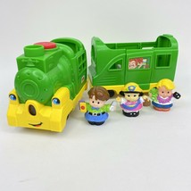 Fisher Price Little People Friendly Passenger Train Sound Phrases Light Lot of 5 - $22.76