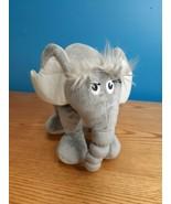 "Dr. Seuss - Horton Hears A Who - Grey Elephant 9"" Plush 2007 by  Manhatt... - $12.38"