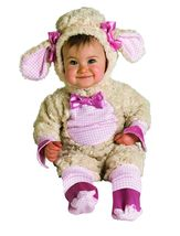 Lucky Little Pink Lamb Baby Halloween Costume Size  6-12 Months - $30.00
