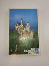 """Vintage F.X. Schmid  """"Castle Neuschwanstein"""" 1000 Piece Jigsaw Puzzle - $28.50"""