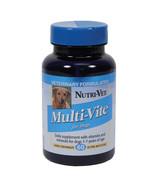 Nutri-vet Wellness Multi-vite Chewables For Dogs 60 Count 669125002155 - $20.45
